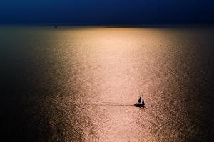 Schiffe im Licht